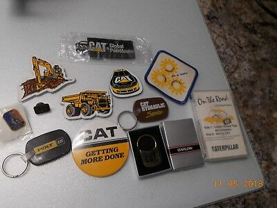 Lot of 12 Different CAT Caterpillar Marketing Giveaway Collectible Pieces Lot 1