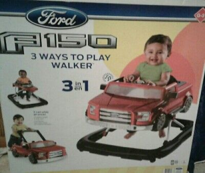 Bright Starts Walker for Boys Girls  Car Ford F150 3ways to play