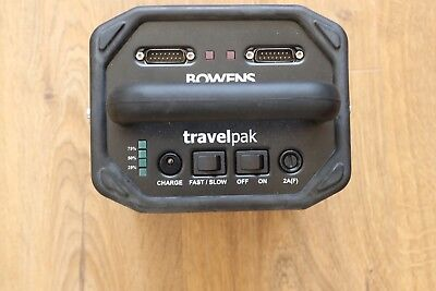 Bowens battery travel pack (small) - excellent condition