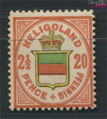 Helgoland 18h tested with hinge 1890 Queen Victoria (9253339