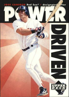 1996 Upper Deck Power Driven #PD4 Jose Canseco