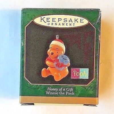 1997 Honey of a Gift Hallmark Miniature Ornament Winnie the Pooh Collection New