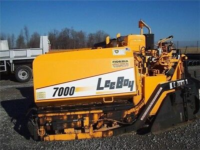 Lee Boy 7000 Paver Replica Decal Set,Peel & Stick Decals, Brand New