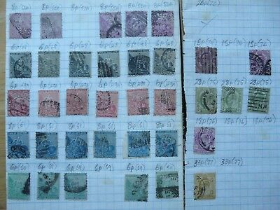 Cape of Good Hope: stock of old stamps on pages & loose (3 photos)