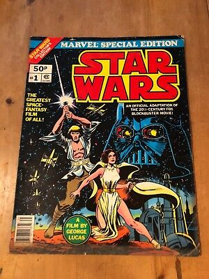 Huge Marvel Comics - Star Wars (1977) Fn+ (Marvel Special Edition) #1