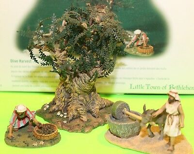 Department 56 Little Town of Bethlehem Olive Harvest 59912 with Original Box
