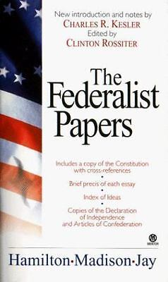 The Federalist Papers  Alexander Hamilton  Good  Book  0 Mass Market Paperback