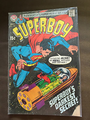 Superboy #158 (July 1969) Dc Comics Vg+