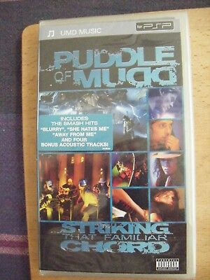 Puddle Of Mudd - Striking That Familiar Chord (UMD, 2005)***NEW SEALED***