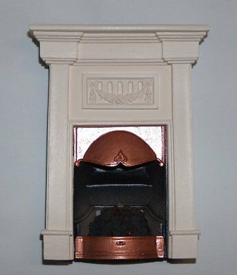 Sue Cook Fireplace Georgian plaster - Camino georgiano gesso PF20