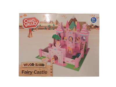 Chad Valley Wood Shed Fairy Castle Play Set Fairy Tale Princess