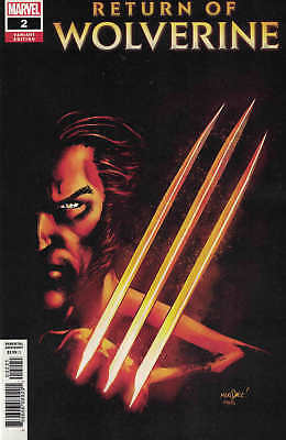 Return of Wolverine #2 1:25 David Marquez Variant Marvel 2018