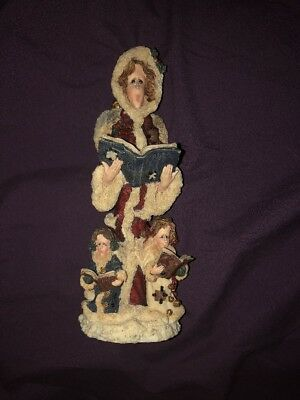 Boyds Folkstone Angel 2828 Seraphina with Jacob and Rachael The Choir Angels