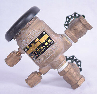 "Watts Pressure Vacuum Breaker 1/2"" No 800"