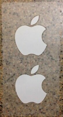 Apple iPhone Stickers - 1 Sheet of 2 Stickers