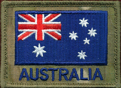 SF - ANF (Australian National Flag) patch   (Multicam) Patch Sleeve / Shoulder