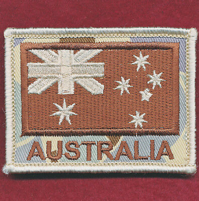 Australian National Flag DPDU (3) Militaria Patch Sleeve / Shoulder