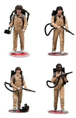 """5""""-7"""" Figures--Stranger Things - Ghostbusters Deluxe Action Figure 4-pack"""