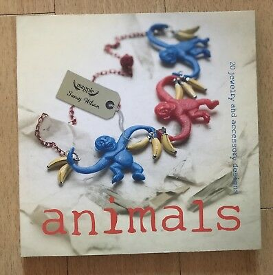 ANIMALS JEWELLERY MAKING BOOK BY TANSY WILSON NEW Beads