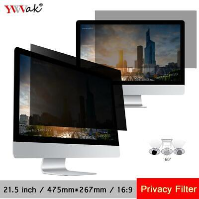 21.5 inch (476mm*267mm) Privacy Filter LCD Screen Protective film For 16:9 Wi...