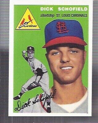 1994 (BB) Topps Archives 1954 #191 Dick Schofield