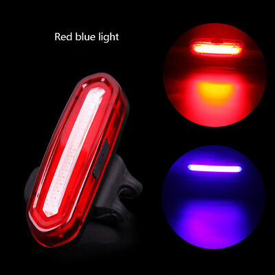 120 Lumens LED Bike Tail Light USB Rechargeable Powerful Bicycle Rear Light CHZ
