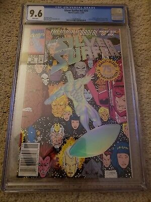 Silver Surfer #75 CGC 9.6 (Dec 1992, Marvel)