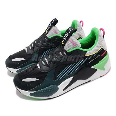 Puma RS-X Toys Running System Black Blue Atoll Men Women Shoes Sneaker  369449- 1aebffa07