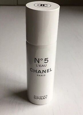 Chanel No 5 L'eau Hair Cheveux And Body Perfuming Spray Limited New Christmas