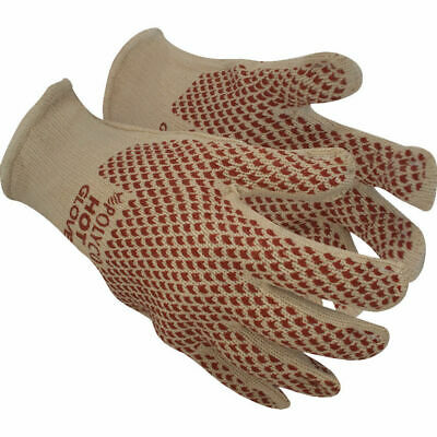 Polyco Hot Glove 9011 Natural/Red Heat Resistant Gloves