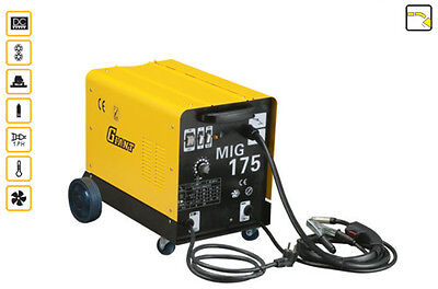 MIG  WELDER  195  AMP SUPER GAS  GASLESS MIG OVER reduced 5 only