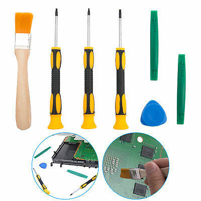 7PCS T8 T6 T10 Screwdriver Repair Prying Tool Kit Set For Xbox One 360 PS3 PS4