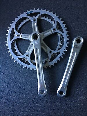 Shimano 600 Arabesque Crankset 52/42 170mm French Thread 14x125