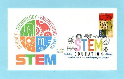 U.s. Fdc Science Stamp From 2018