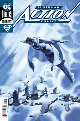 ACTION COMICS (2016) #1004 - Cover A (FOIL) - DC Universe Rebirth - New Bagged