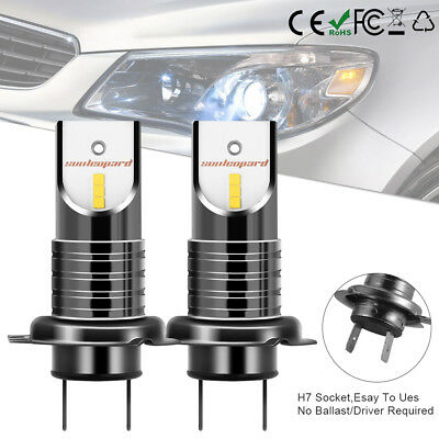 110W H7 LED Ampoule CSP Voiture Feux Phare Lampe Kit Remplacer HID Xénon LD1595