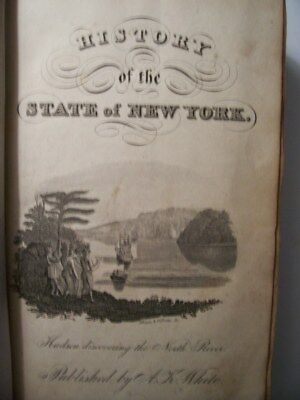 History Of The State Of New York 1832 By F.s.eastman View Of Orginal Inhabitants