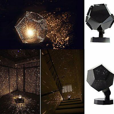 Romatic Cosmos Moon Star Master LED Starry Night Sky Light Lamp For Baby Kids DF