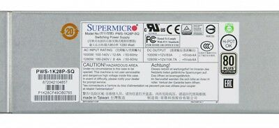 SuperMicro 1U 1280W Power Supply PWS-1K28P-SQ