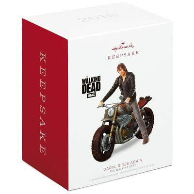 Daryl Rides Again The Walking Dead 2018 Hallmark Ornament