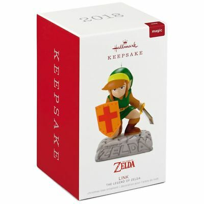 Zelda The Legend of Zelda with Sound 2018 Hallmark Ornament