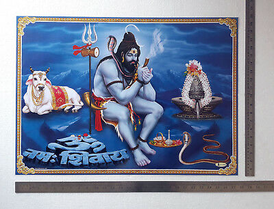 "20""x28"" Poster Shiva Relaxing"
