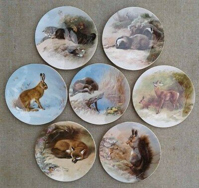 Royal Worcester - Thorburn's Mammals - Natural History Museum - Plate Selection