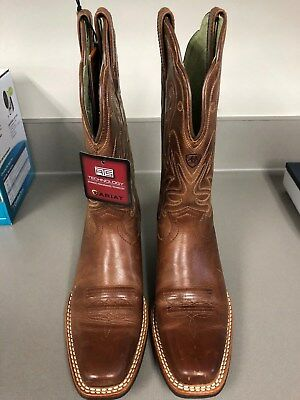 99454760717 Ariat Womens Legend Square Toe Cowboy Western Russet Rebel 10001056 - Size  8 New