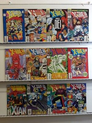 Marvel Comics X-Men 2099 #1 2 3 4 5 6 7 8 9 10 11 12 Comic Run Set