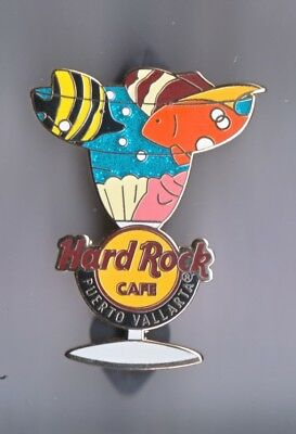 Hard Rock Cafe Pin: Puerto Vallarta Margarita Fish le300