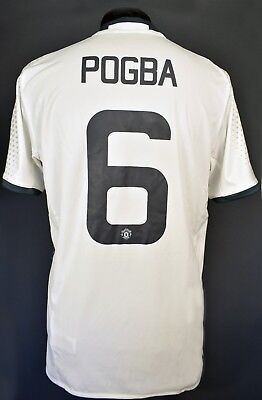 low priced 5186c f0176 55 Pogba manchester united jersey third shirt adidas 20162017 Soccer  AI6690