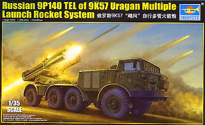 TRUMPETER® 01026 9P140 TEL of 9K57 Uragan Multipl Launch Rocket System in 1:35
