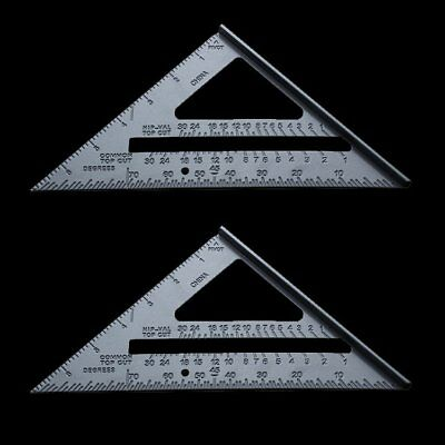 7'' Aluminium Alloy Roofing Rafter Square Triangle Angle Guide Amtech Tool ZX