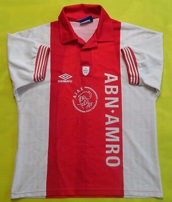 be05241fe 4.6/5 VINTAGE AJAX jersey 1993~1995 LIMITED EDITION SHIRT UMBRO ...